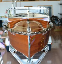 """""""Eleanor"""" a rare 1929 29′ Ditchburn Viking incorporating the step hull design. """"Eleanor"""" was one of the last boats delivered before the stock mar…"""