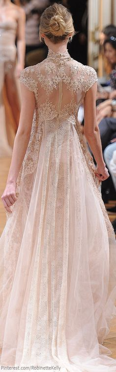 Zuhair Murad, fall 2013 | Couture.princess dress......