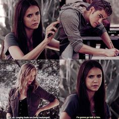 [2x05] make me choose between [delena] or stelena Stelena obviously because they are my biggest otp of all time :) — Your biggest otp? (from any show)