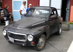 You don't have one of these. It's a Volvo Duett.
