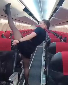One of the abilities a flight attendant has to have Funny Photoshop Pictures, Best Funny Pictures, Sexy Stocking, Flight Attendant Hot, Bodysuit, Virgin Atlantic, Fashion Tights, Daily Funny, Cabin Crew