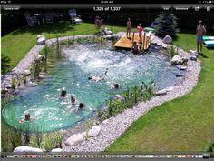 Pool comfort . Pond look