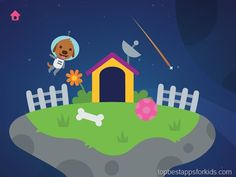 Sago Mini Space Explorer | adorable toddlers app with beautiful animations