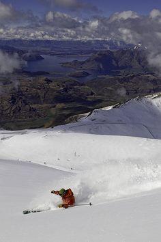 New Zealand skiing #backcountry #offpiste #powder #travel #skiing