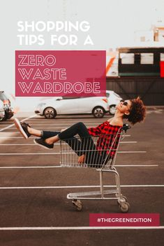 Lots of tips to lower your waste while updating your wardrobe! #zerowaste #sustainablefashion #shoppingtips