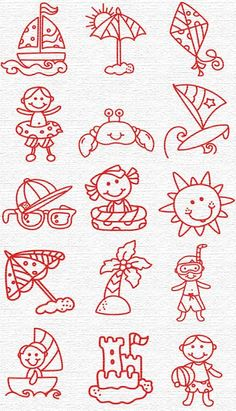 Free Embroidery Designs, Sweet Embroidery, Designs Index Page Baby Embroidery, Cross Stitch Embroidery, Embroidery Patterns, Coloring Books, Coloring Pages, Free Machine Embroidery Designs, Needlework, Sewing Projects, Doodles
