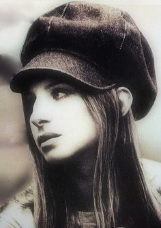 Amazing photograph of Barbara Streisand 1971