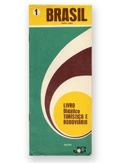 Brasil Mapa Geral - from 1969