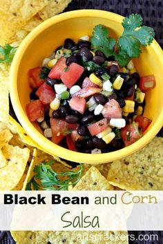 Black Bean and Corn Salsa Medium. Click the picture for the recipe.