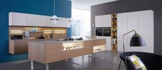 CLASSIC-FS | TOPOS › Lacquer › Modern style › Kitchen › Kitchen | LEICHT – Modern kitchen design for contemporary living