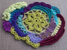 free form crochet - BEAUTIFUL!