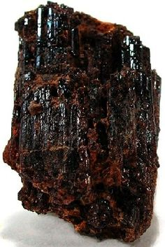 Painite crystal. One of the rarest  minerals in the world, until recent finds.