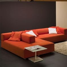 contemporary modular sofa DOLMEN by Enzo Berti ferlea