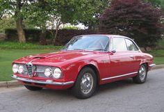 Year 1966: Alfa Romeo 2600 Sprint designed by Bertone