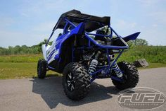 New 2016 Yamaha YXZ1000R Racing Blue/White ATVs For Sale in Wisconsin. 2016 Yamaha YXZ1000R Racing Blue/White, PRICE INCLUDES CUSTOMER CASH AND TRADE REBATE 2016 Yamaha YXZ1000R Racing Blue/White w/Suntop THE WORLD'S FIRST PURE SPORT SIDE BY SIDE The all-new YXZ1000R. A sport 3 cylinder engine and class-defining 5-speed sequential shift transmission. Welcome to the ultimate pure sport SxS experience. Features may include: Unmatched SxS Performance The all-new YXZ1000R doesn t just reset the…