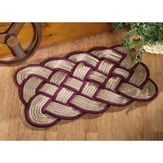Love Knot Braided Rug