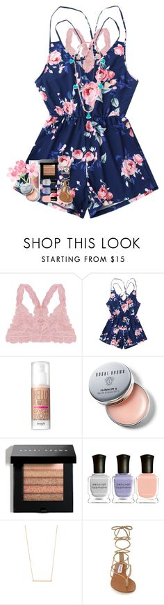 """""""Crashing hit a wall right now I need miracle"""" by livnewell ❤ liked on Polyvore featuring Humble Chic, Benefit, Bobbi Brown Cosmetics, Deborah Lippmann, Kristen Elspeth, Steve Madden and Lead"""