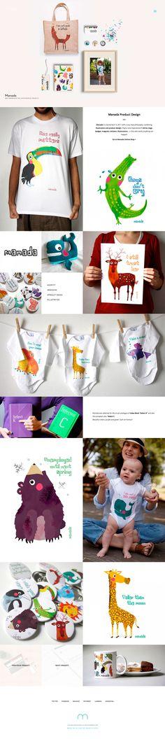 Manada, identity, branding and product design by @muakstudio