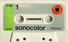 sonocolor C90 Magnetic Tape, Audio, Cassette Tape, Ephemera, Compact, Frames, Film, Vintage, Movie