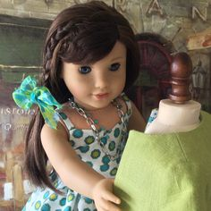 A personal favorite from my Etsy shop https://www.etsy.com/listing/271613074/american-girl-doll-clothes-custom