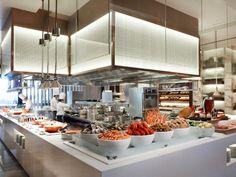 food display buffet