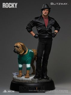 Blitzway Rocky II Superb Scale Hybrid Statue Sylvester Stallone Pre-Or | Movie Figures