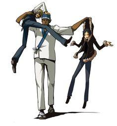Durara !! drrr  Shizuo ,Simon,  Izaya  =^-^=