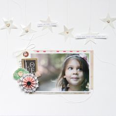 Look at the stars by stephaniebryan Peas in a Bucket 12x12 Scrapbook, Scrapbook Supplies, Scrapbooking Layouts, Baby Memories, Look At The Stars, Studio Calico, Layout Inspiration, Cartoon Drawings, Scrapbooks