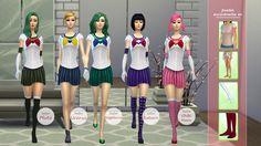 Anime Collection - Sailor Moon 2 - Los Sims 4