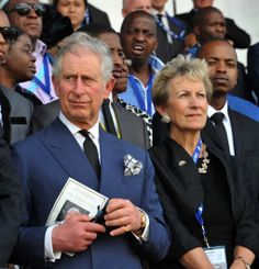 Nelson Mandela memorial: The world pays tribute | CTV News   ~~ Prince Charles attends Nelson Mandela's burial service, in Qunu, South Africa, Sunday December 15, 2013.