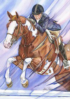 JUMPER.http://www.lynnbean.com/horses-equestrian-jumper-163.shtml