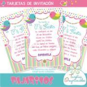 Invitaciones Pajaritos