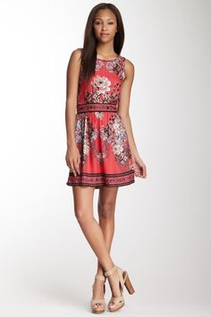 Angie Open Back Floral Print Tank Dress by Non Specific on @HauteLook