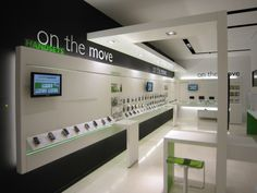 Cosmote mobile store by KVB Design, Athens – Greece