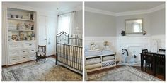 Some lovely ideas here...Favorite Baby Nursery Ideas
