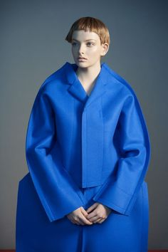 Comme des Garçons | Siobhan O'Keefe Andrea Ojdanic by Sophie Delaporte for Idoménée Spring/Summer 2013.
