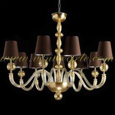 26 Monaco - Murano glass chandelier