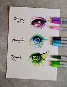 Mythical eyes by lighane copic art, eye drawings, marker drawings, copic drawings, Copic Marker Art, Copic Art, Copic Markers, Copic Pens, Amazing Drawings, Beautiful Drawings, Art Drawings Sketches, Cute Drawings, Copic Drawings