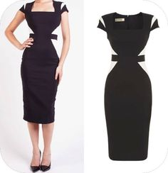 Stay on trend with #colour blocking this #Autumn with our NEW IN Grace pencil #dress. www.cargoclothing.com