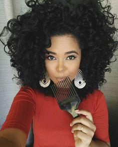 #cabelo natural #pelo Negro Bonito!!! Beautiful Black Hair Curls