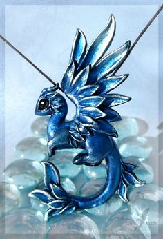 Dragon of the Silver ice forest by AlviaAlcedo.deviantart.com on @deviantART