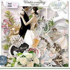 Winter weeding Kit de Xuxper Designs