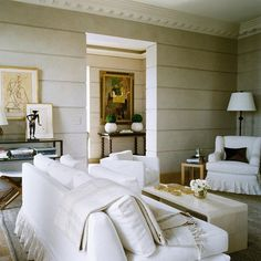 TIMELESS NEUTRALS - Mark D. Sikes: Chic People, Glamorous Places, Stylish Things