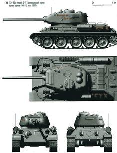 Т-34-85  первой  серийной серии  с пушкой  Д-5Т