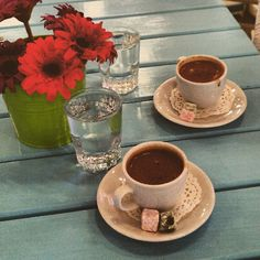 Akşam kahvesi keyfi… kahvekeyfi coffeetime