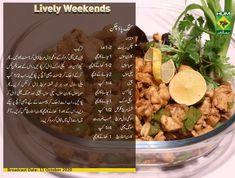 Masala Tv Recipe, Urdu Recipe, Acai Bowl, Chicken Recipes, Cooking, Breakfast, Food, Kitchen, Acai Berry Bowl