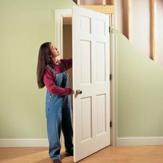 How to Repair Interior Doors  Simple solutions to the four most common door problems