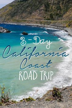 "For the perfect ""sampler platter"" of sights and activities on a California coast road trip, I recommend planning 3 days from Los Angeles to San Francisco."