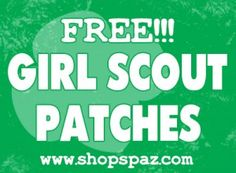 Free Girl Scout Patch Programs