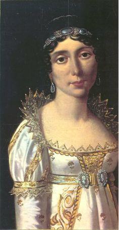 Julie Clary Bonaparte (1771-1845) married Joseph Bonaparte on August 1, 1794.